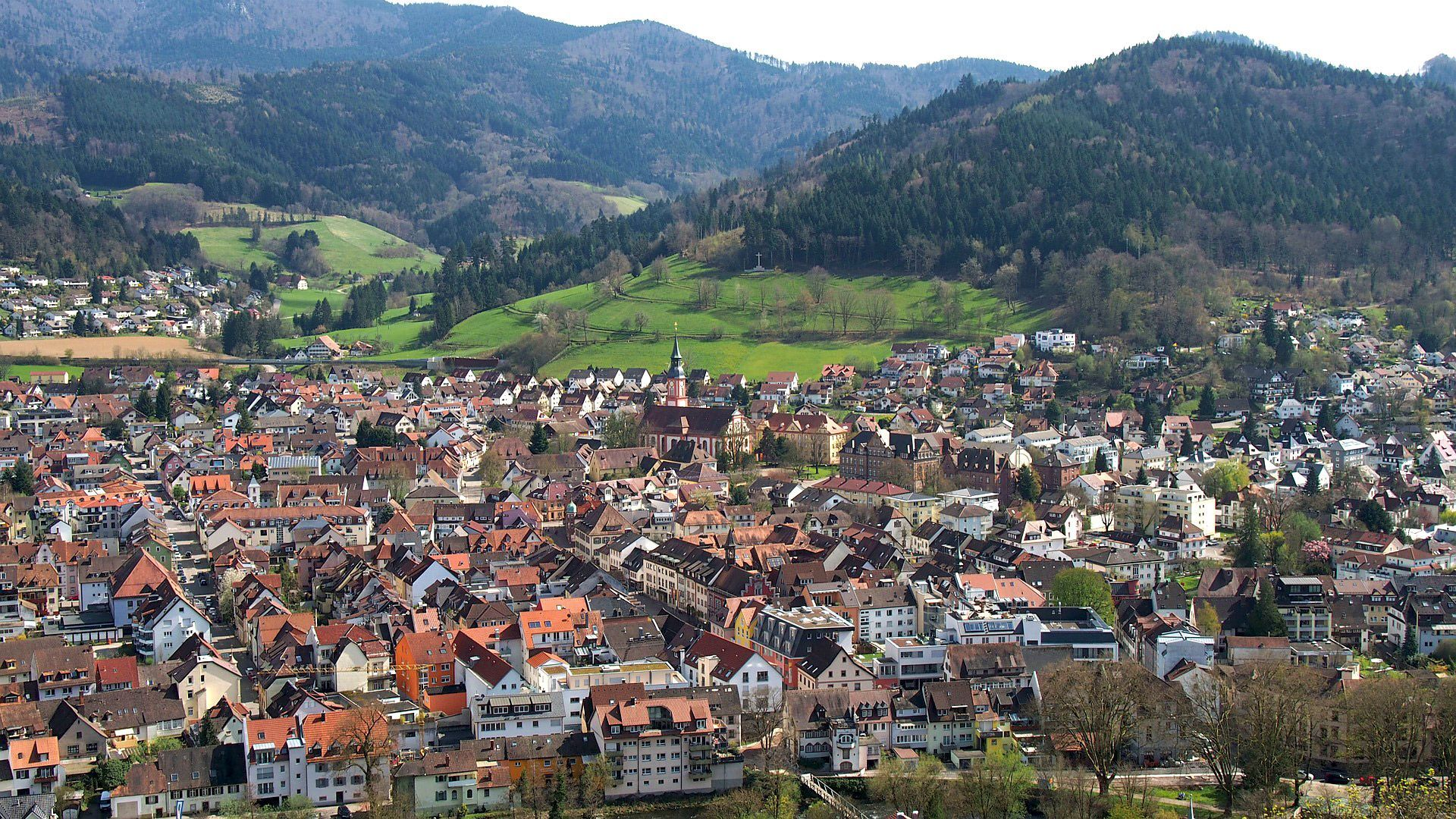 Waldkirch in the Black Forest